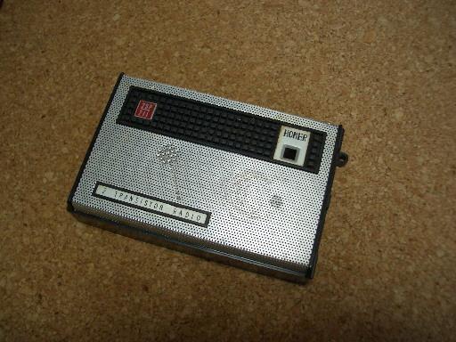 2石トランジスタラジオ