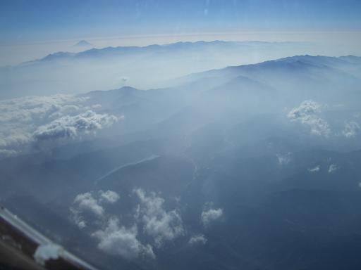 富士山、南アルプス、中央アルプス