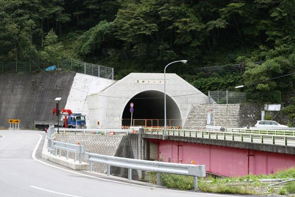蒲田トンネルの出口