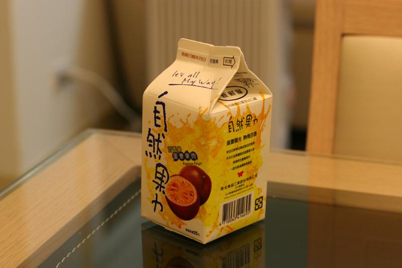 百香果ジュース