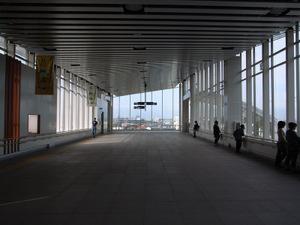 新しくなった松本駅のコンコース
